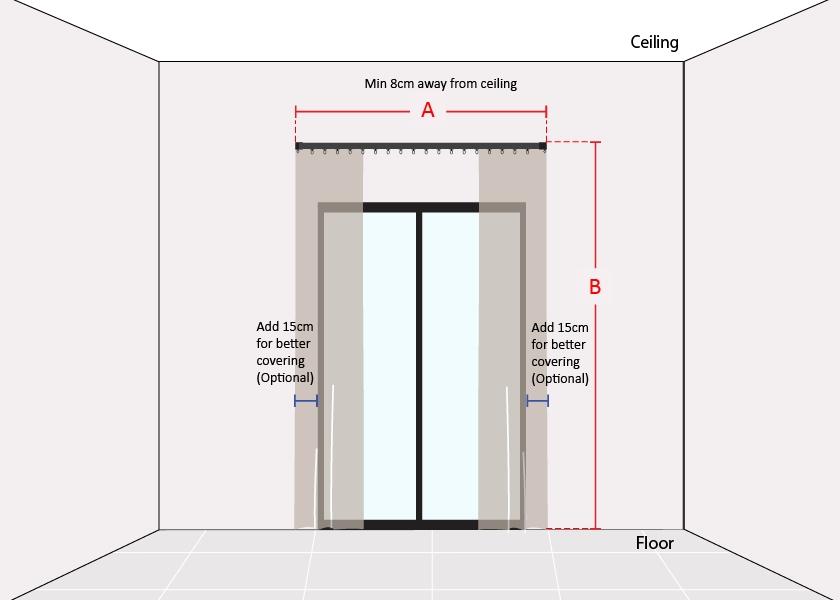How to Measure Narrow Sliding Door