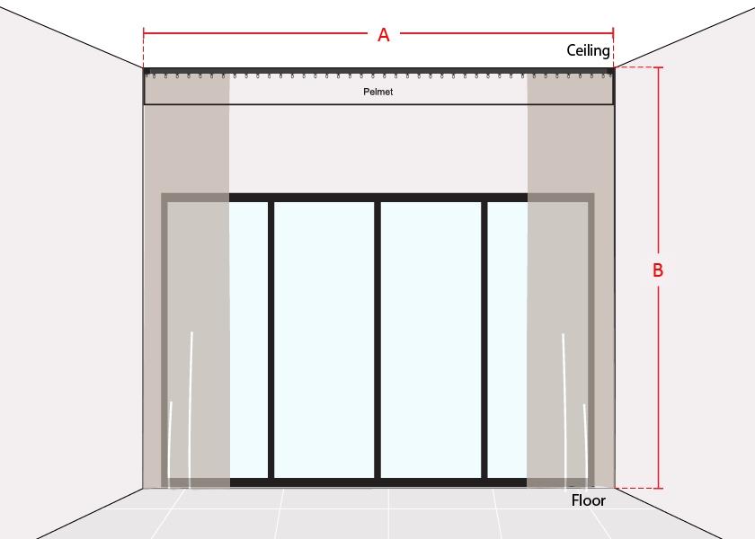 How to Measure Pelmet Sliding Door