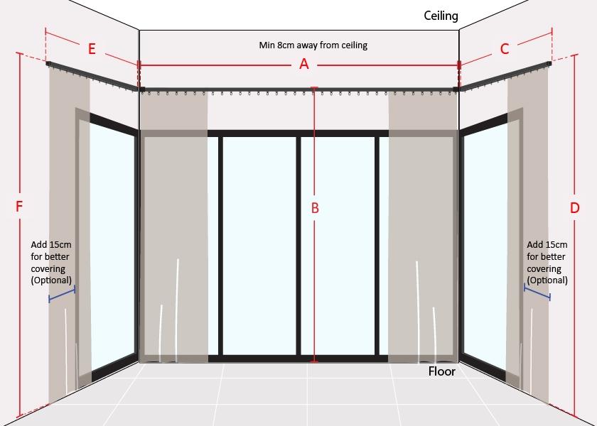 How to Measure U Shape Sliding Door