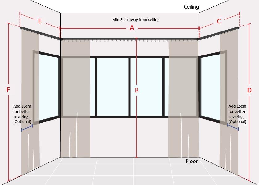 How to Measure U Shape Window Long