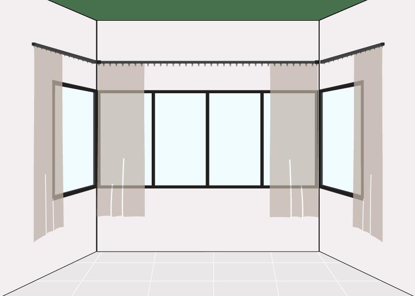 How to Measure U Shape Window Short