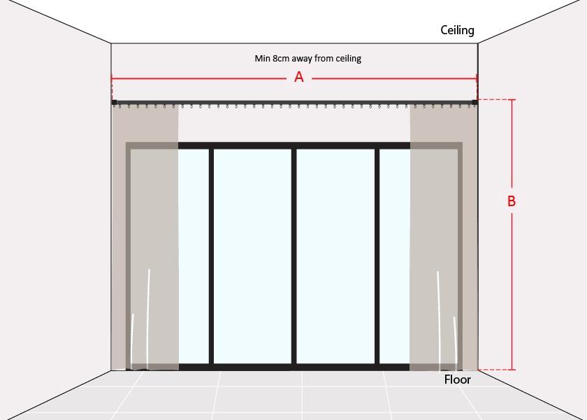 How to Measure Wide Sliding Door