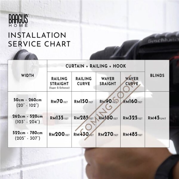 Installation service chart 02 01 01 01 1
