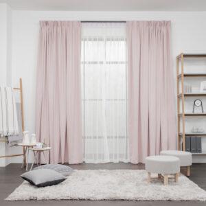 Set Bold Pink Tea Bag White 1