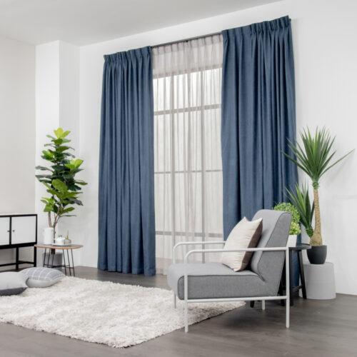 Set Soft Yarn Blue Mini Square Grey 2