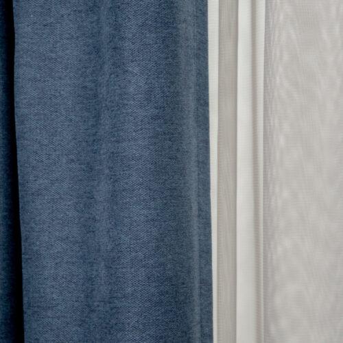 Set Soft Yarn Blue Mini Square Grey 3