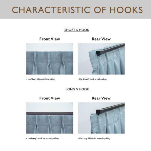 Single Long Hook AC 0018 3