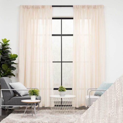 baagus home curtain blinds kl malaysia Soft Woven Beige SP YY808 4B DSC 9604 1