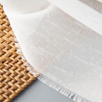 Soft Woven - White